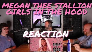 Megan Thee Stallion | Girls in the Hood | Reaction by Back Row Reacts