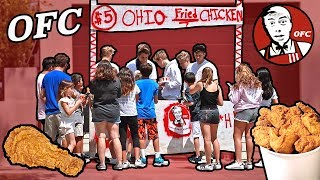 FUNNY OHIO FRIED CHICKEN STAND (WITH FANS)