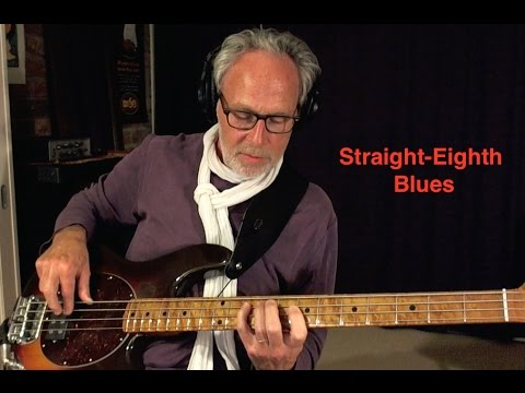 Bass Blues with Straight Eights