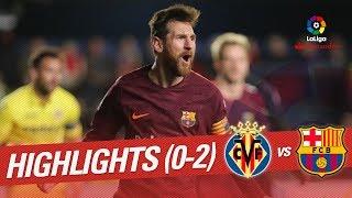 Resumen de Villarreal CF vs FC Barcelona (0-2)