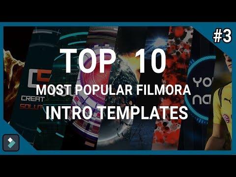 free download filmora intro templates