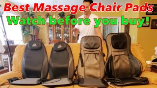 BEST MASSAGE SEAT CHAIR CUSHION PADS - PRO & CONS (Which is Best for You?)