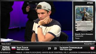 Pro Tour Magic 2015 - Finals - Ivan Floch vs. Jackson Cunningham