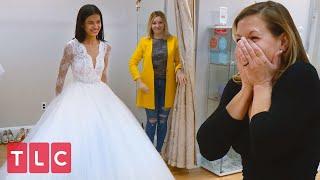 Julianas Gorgeous Wedding Dress! | 90 Day Fiancé