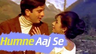 Humne Aaj Se - Shashi Kapoor - Nanda - Raja Saab - Hindi