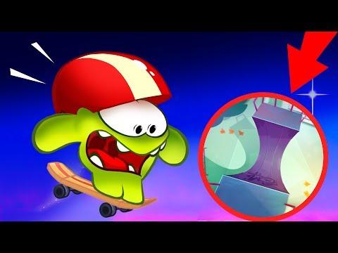 Om Nom Stories - Skateboard - Cut The Rope New season 6 video blog - KEDOO animations for kids