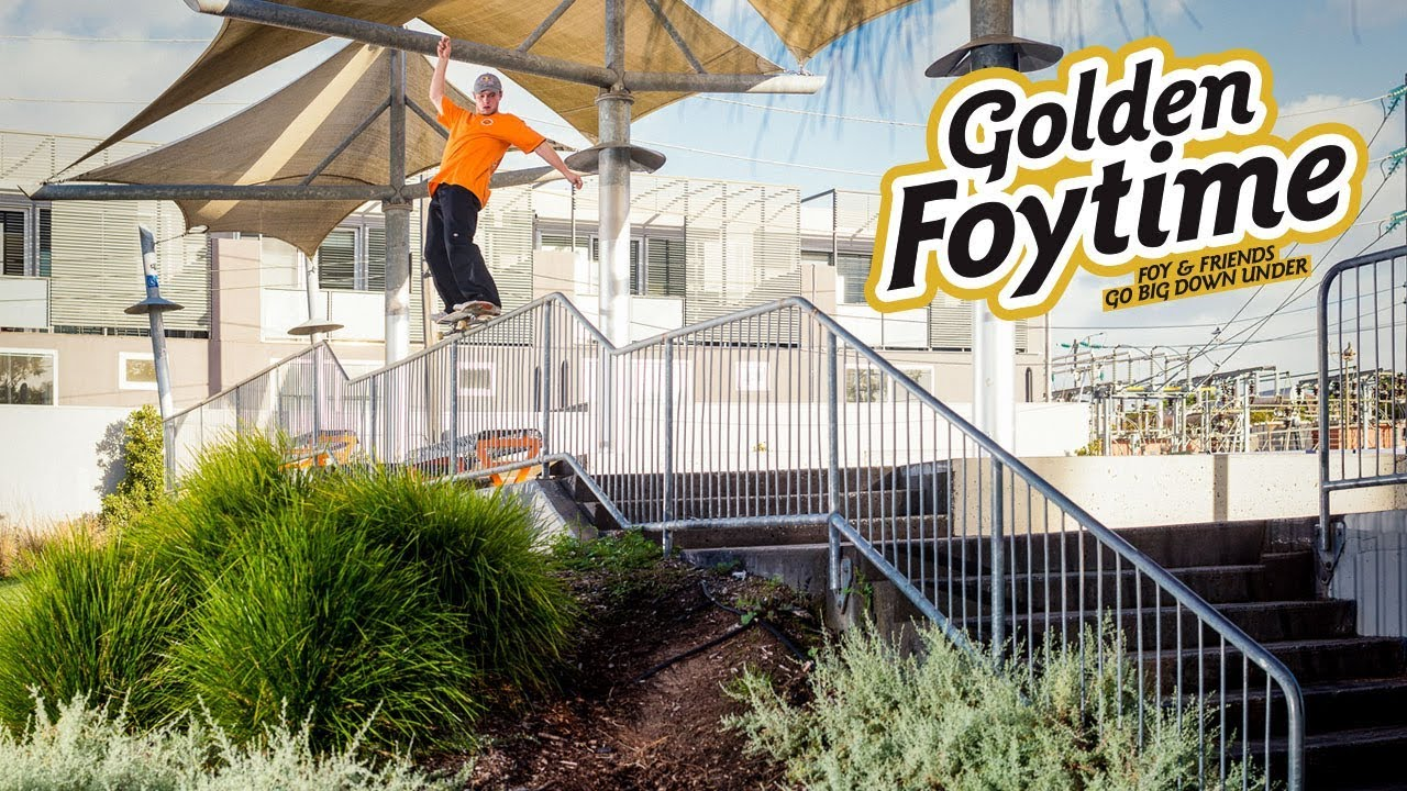 Golden Foytime: SOTY & Friends Go Big Down Under - ThrasherMagazine