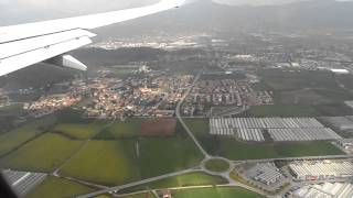 preview picture of video 'Landing at Milan Bergamo airport'