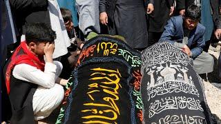 video: At least 58 dead as blasts strike Kabul school