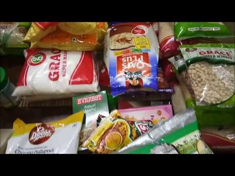 INDIAN Grocery shopping    Monthly grocery Haul    Singapore