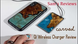 Carved 15W Qi Wireless Charger Review