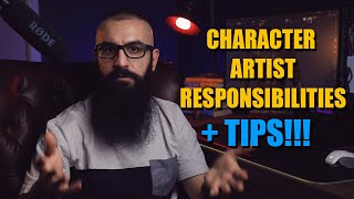 Responsibilities Of A Character Artist And How To Be Successful At It.