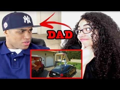 MY DAD REACTS TO Lil Pump -