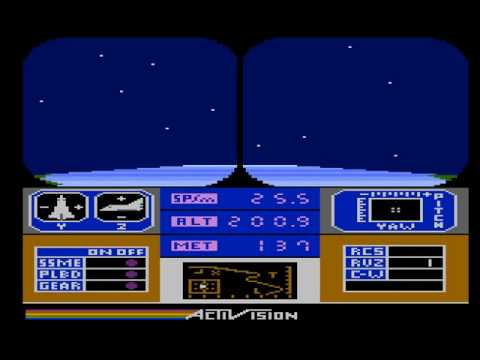Atari XL/XE - Space Shuttle : A Journey Into Space  [Activision] 1983