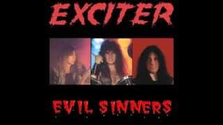 Exciter - Evil Sinners (Barrymores,Ottawa Live 1984 Bootleg CD)