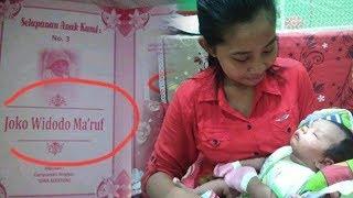 Viral di Medsos, Bayi Bernama Joko Widodo Ma'ruf dari Sragen Jateng