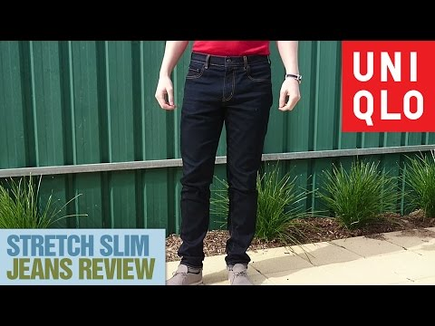 Uniqlo Stretch Slim Tapered Jeans Review