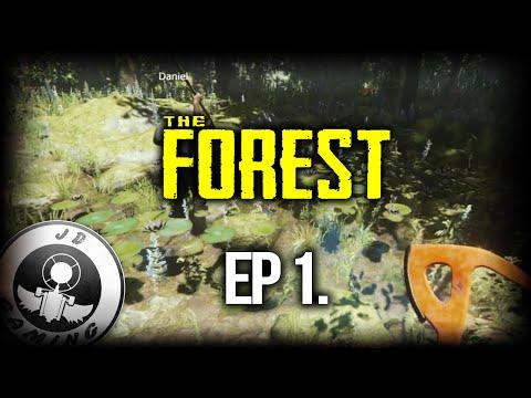 [CZ-LP] The Forest #1 - Stavba domu a neomezený přísun jídla