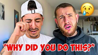 I didn't mean to make him cry… (emotional surprise)