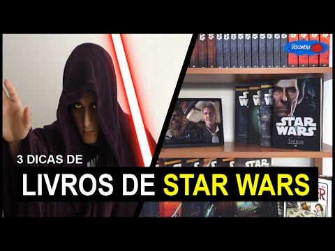 3 Livros de Star Wars que Você Deve Ler