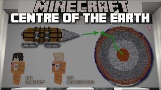 Minecraft DRILLING TO THE CENTRE OF THE EARTH !! Minecraft Mods