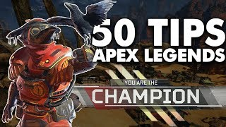 50 SKILLED Apex Legends Tips to Improve!
