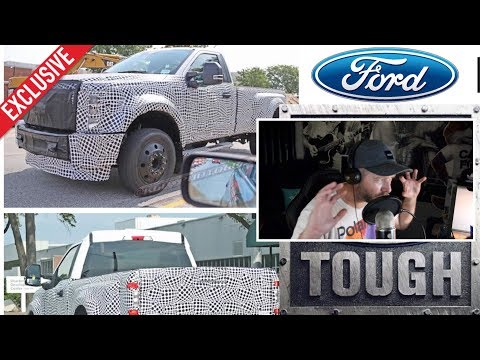 New 2020 Ford Super Duty Trucks Reaction To Spy Shots
