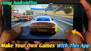 How to make 3D Games on android/ios without coding |How to develop games using Android/ios