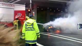 Car Fire Sydney Nsw Australia