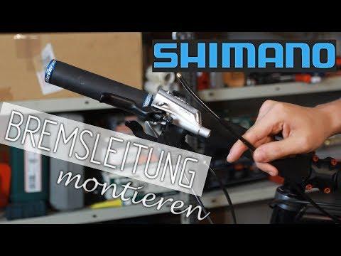 Shimano Bremse - entlüften, Bremsleitung tauschen oder kürzen (Shimano Deore XT)