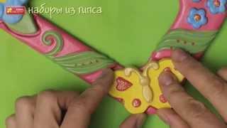 Как сделать фигурки на магнитах из гипса