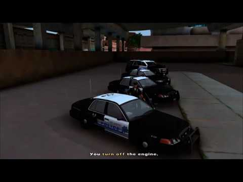 Los Santos Police Department/ LAPD Pack! - смотреть онлайн