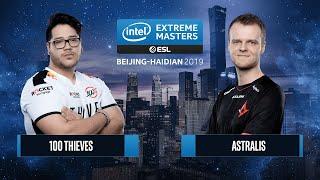 CS:GO - 100 Thieves vs. Astralis [Nuke] Map 2 - Grand Final - IEM Beijing-Haidian 2019