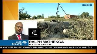 Ralph Mathekga unpacks NW situation