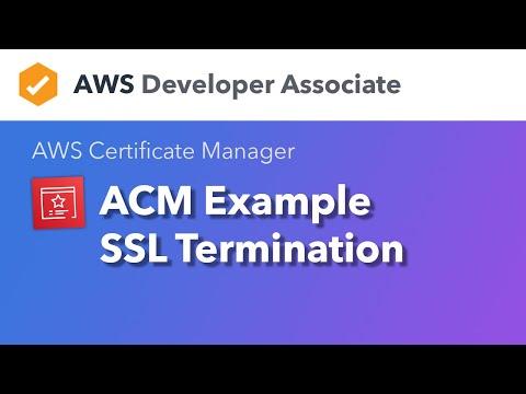 ACM — SSL Termination - YouTube