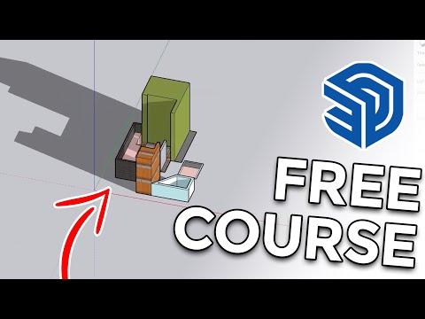 Sketchup Basics Free Course | Sketchup 2021 Course | Sketchup Guru | How to use Sketchup