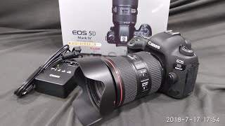CANON EOS 5D Mark iV 24-105mm