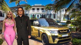 Johnny Depp Lifestyle 2020 ★ Net Worth, New Wife, House & Yacht