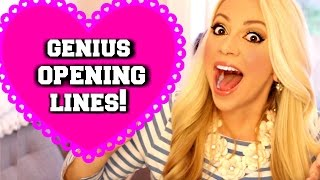 5 Genius Opening Lines to Talk to Your Crush: TEEN GUYS AND GIRLS