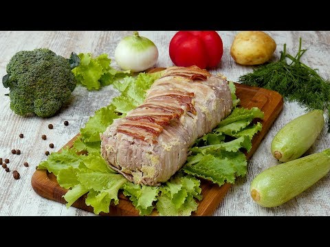 Омлет в беконе - Рецепты от Со Вкусом видео