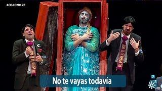Chirigota No te vayas todavía – Final COAC 2017