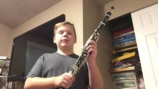 Hot Crusts Bus On A Clarinet