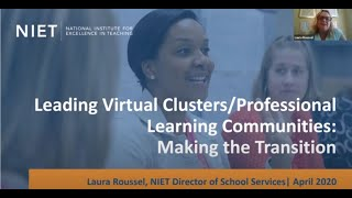 Leading Virtual Clusters/Professional Learning Communities: Making the Transition