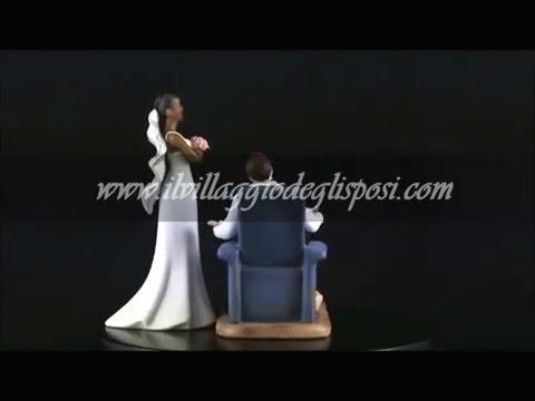 Video - Sposa arrabbiata di colore e sposo passione videogame