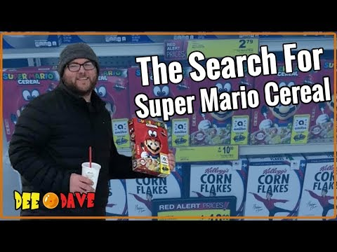 The Search For Super Mario Cereal | Dee Dave