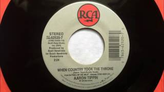 Workin' Man's Ph. D - When Country Took The Throne , Aaron Tippin ,1993 45RPM