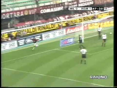 AC Milan vs AS Roma 3-2 1998.10.25
