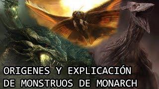 King Ghidorah, Mothra y Rodan EXPLICADOS por Monarch   El Origen de los Monstruos EXPLICADO