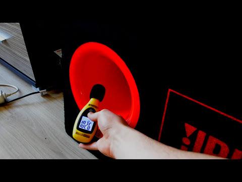 Alpine MRP-M450 amplifier + JBL CB300e bandpass subwoofer bass test