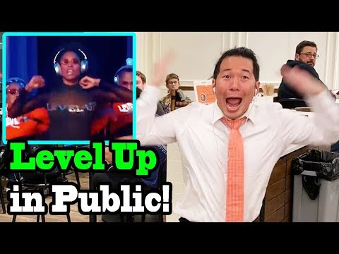 "CIARA - ""Level Up"" - LEVEL UP CHALLENGE IN PUBLIC!!"